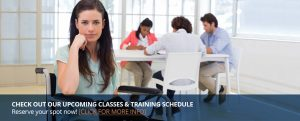 Training and Classes Schedule